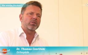 """Dr. Czerlitzki Interviewbeitrag SAT.1-Sendung """"Endlich Feierabend"""""""