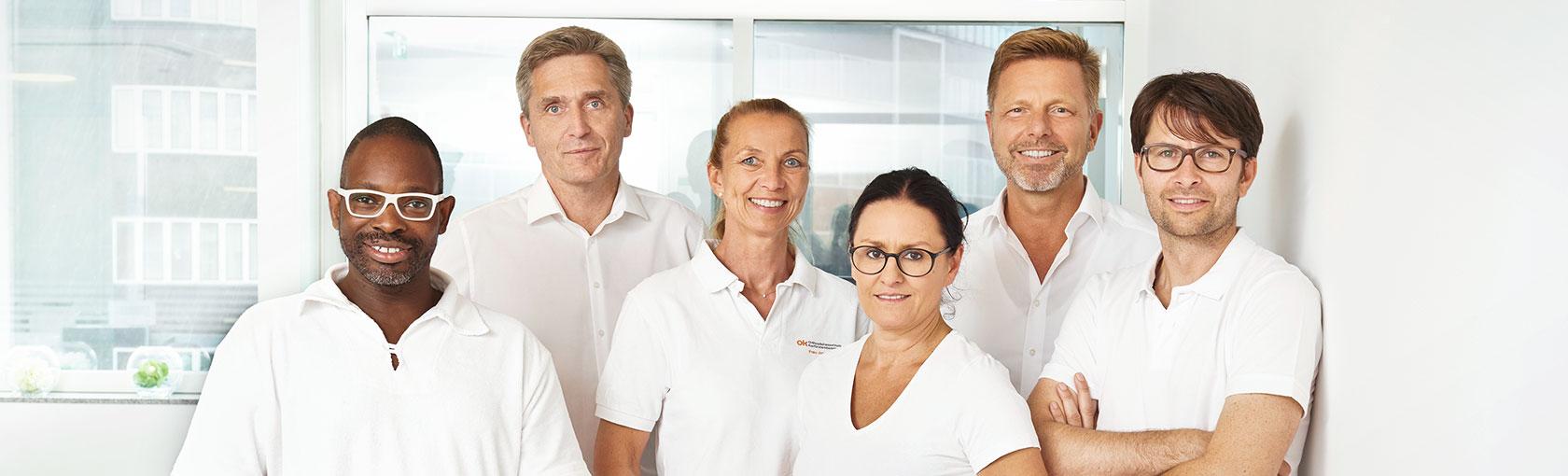 Team Orthopädie am Kurfürstendamm Header